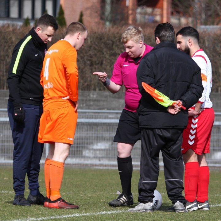 18 maart 2018: V.C.S. - Full Speed (gestaakt ivm blessure scheidsrechter.