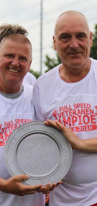 26 mei 2019: Veteranen van Full Speed kampioen!