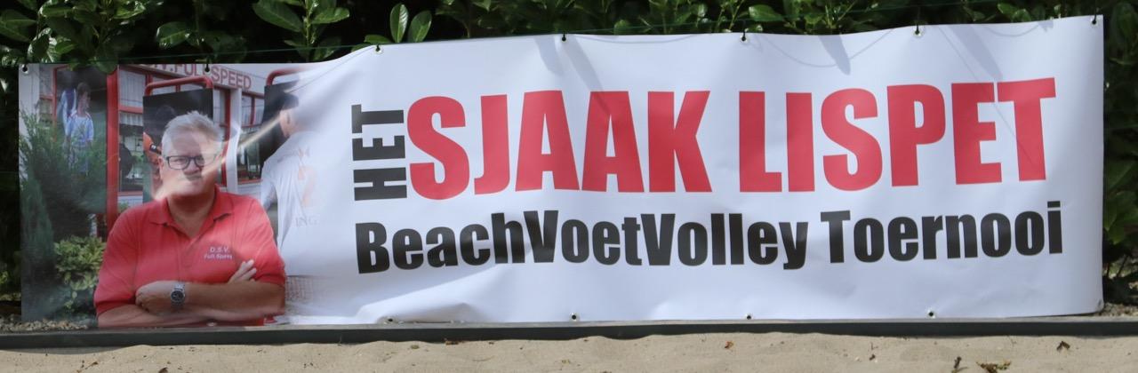 6 juli 2019: het Sjaak Lispet beach-voet-volley tournooi